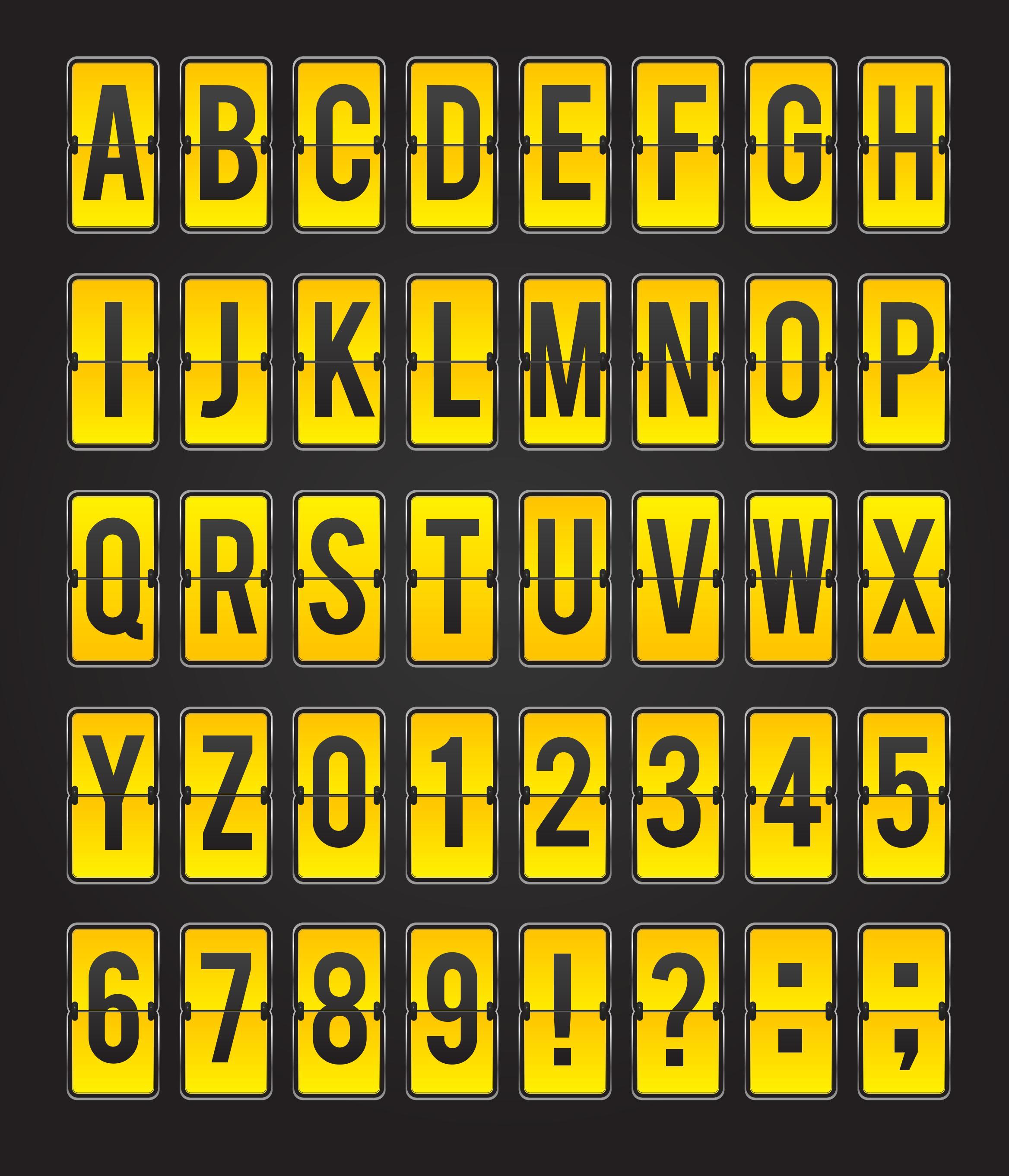 Alphabet Letters 02 png