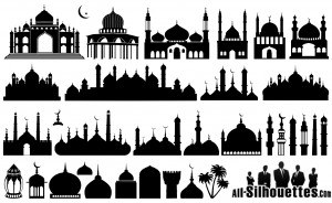 islamic_mosque-silhouettes
