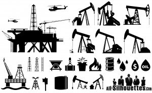 Oilfield Silhouettes