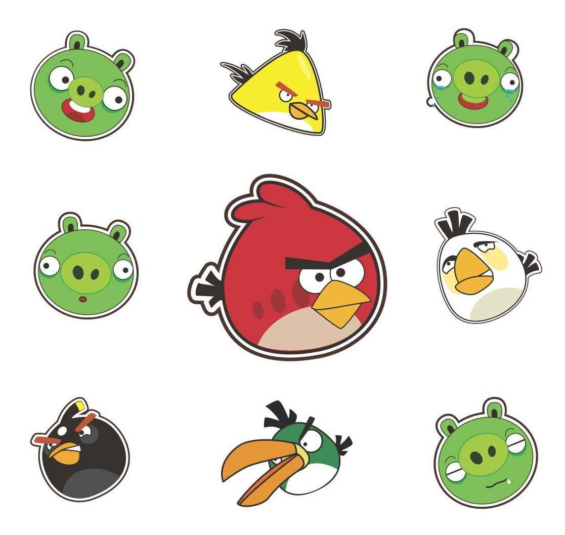Angry Birds Vector Pack 01 png