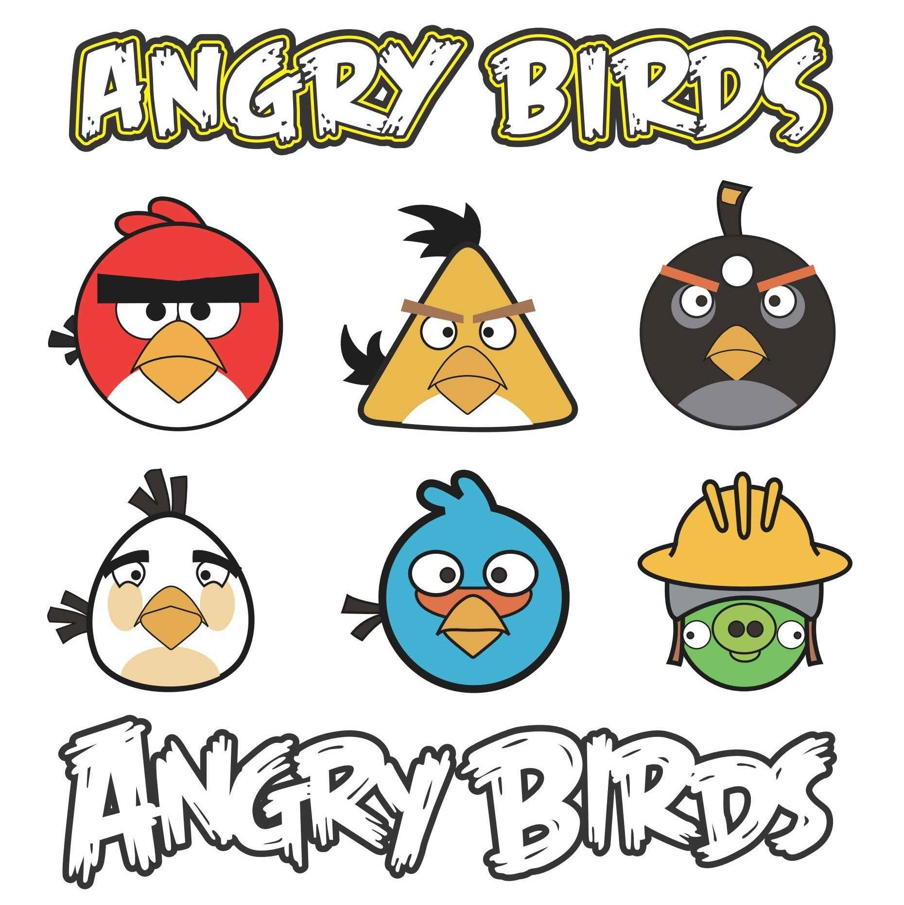 Angry Birds Vector Pack 02 png