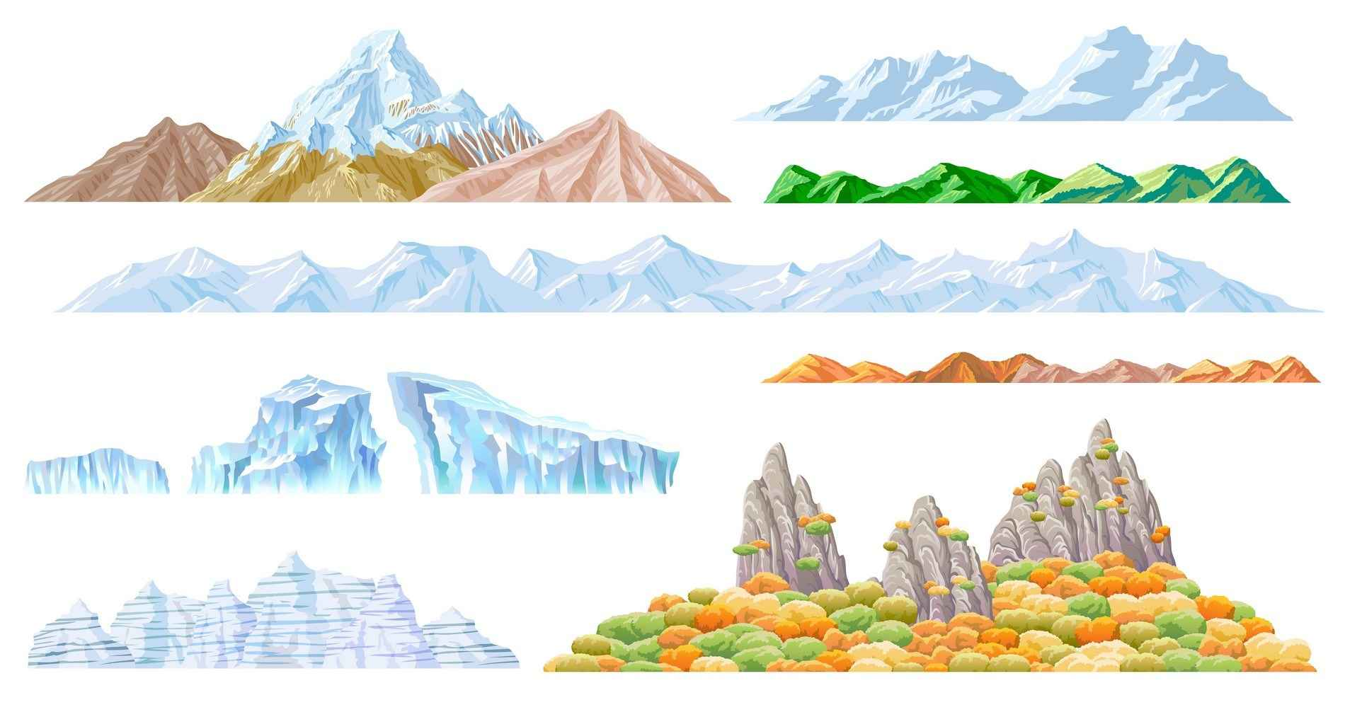 Mountains png