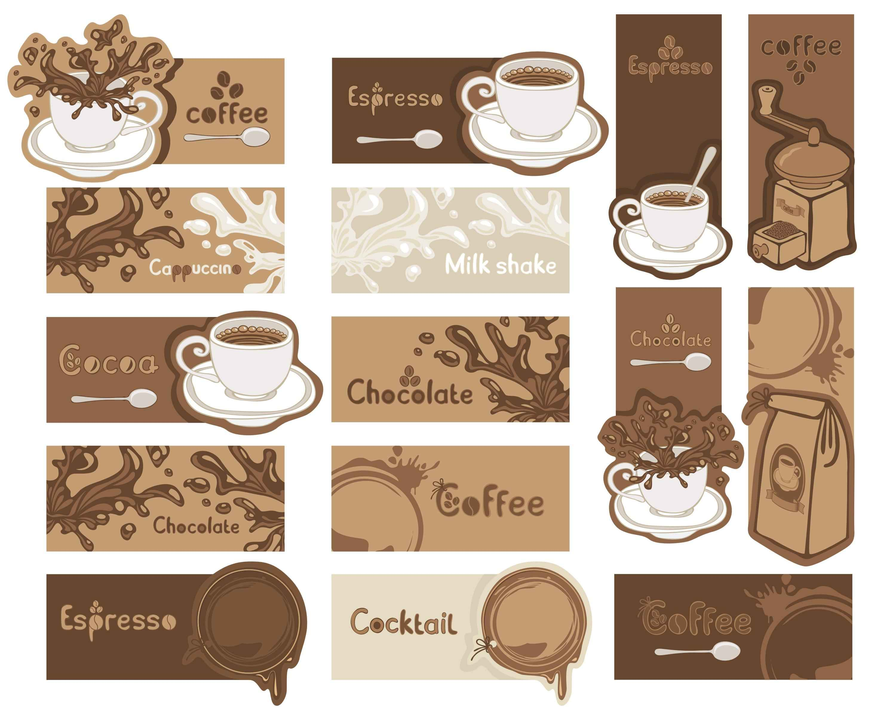 Coffee Banners Pack