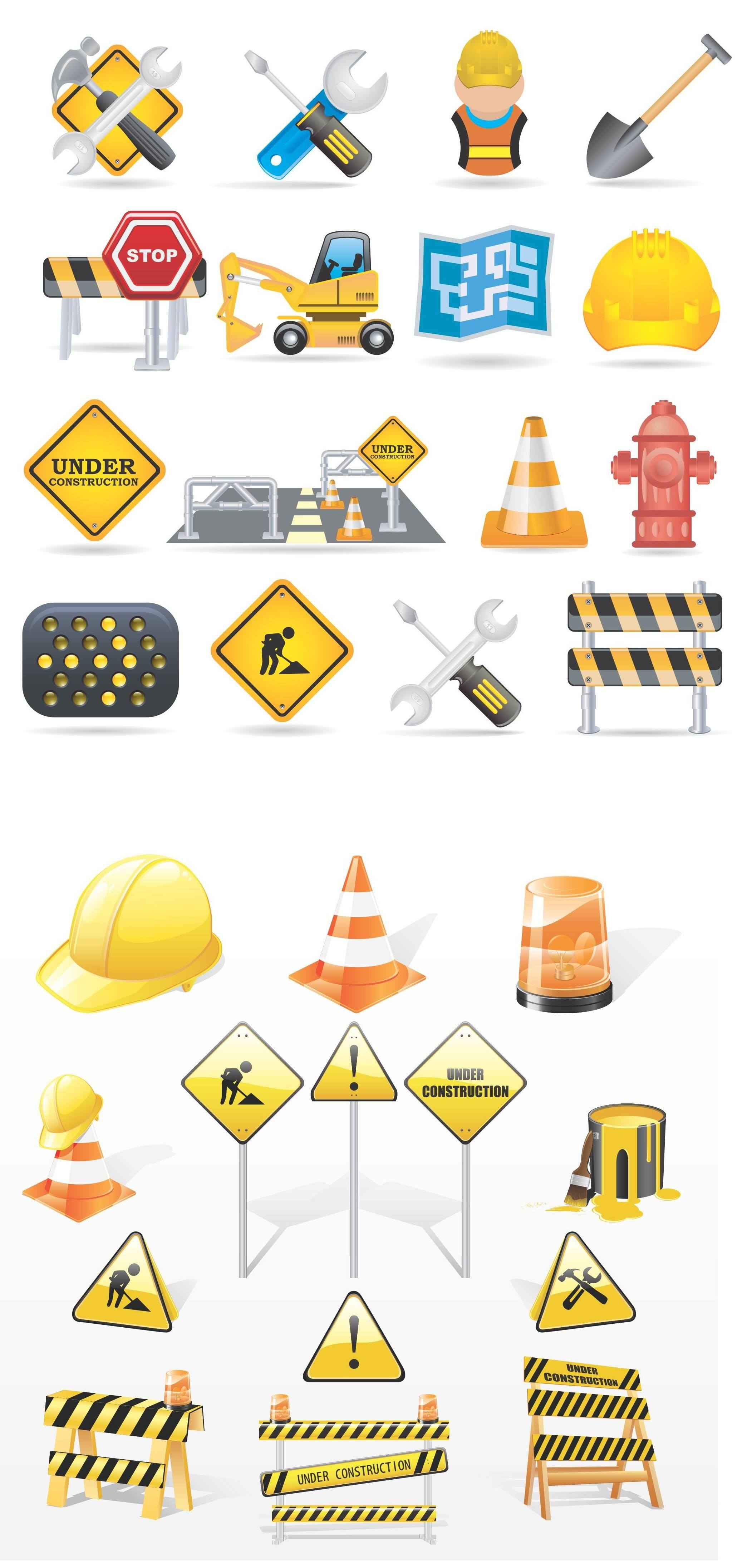 Construction Icon Pack [EPS File] png