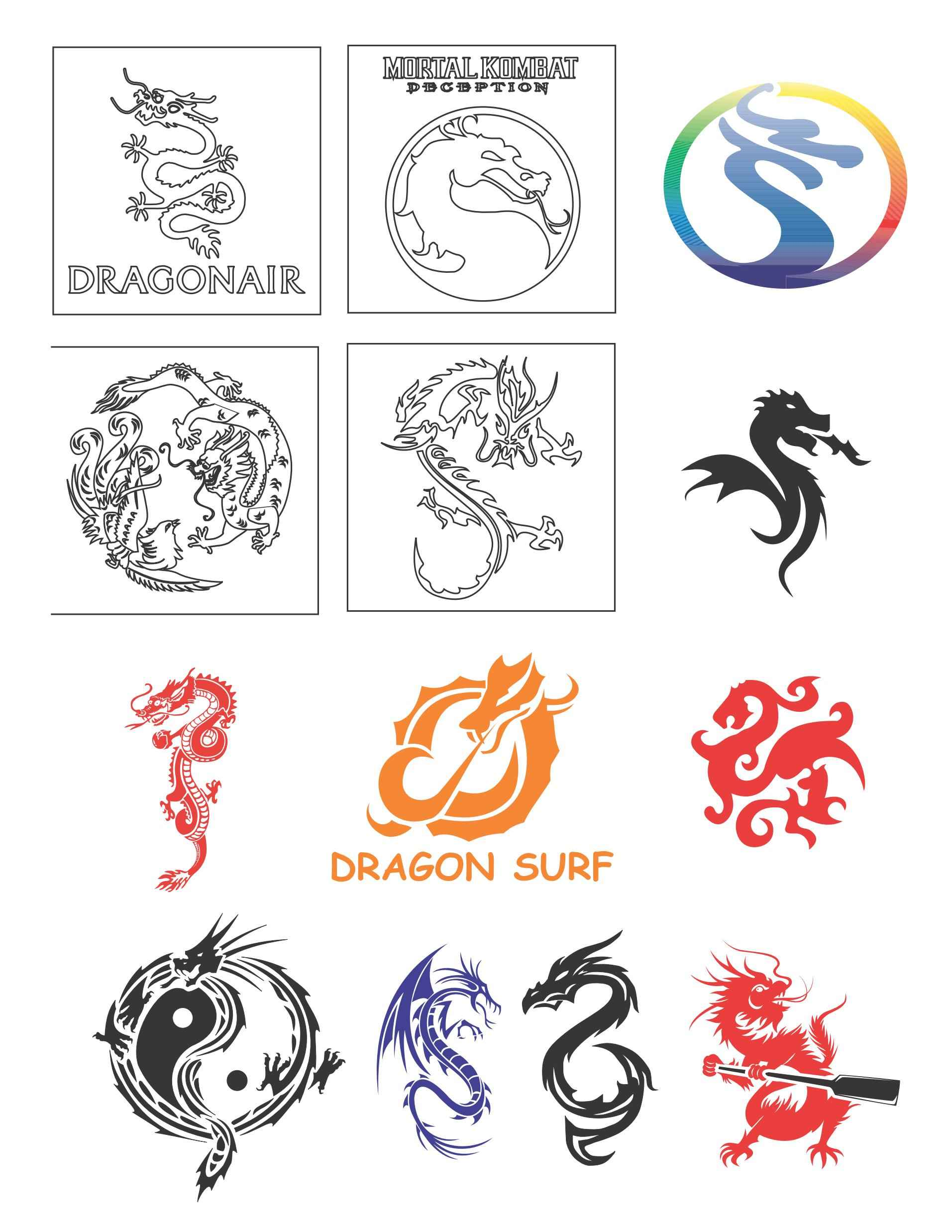 Dragon Collection Materials png