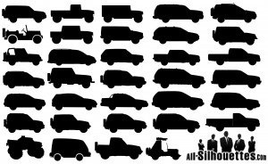 off-road-cars-silhouettes