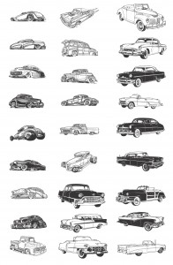 old-classic-cars-silhouettes