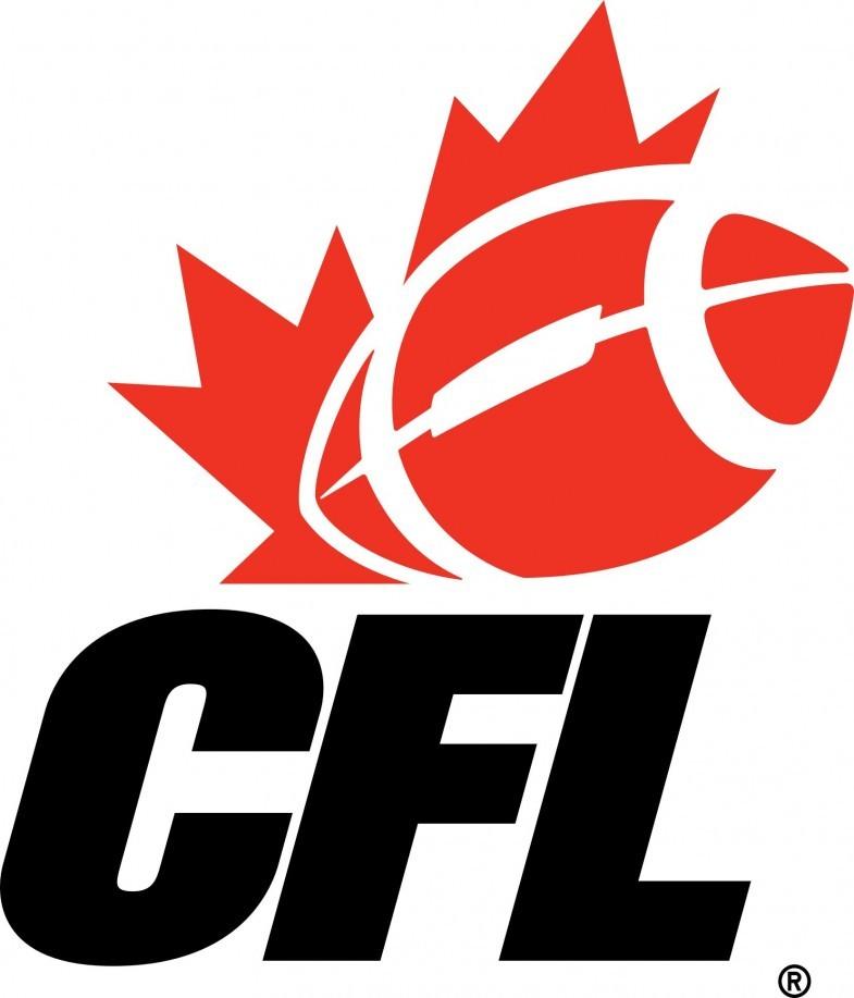 CFL   Canadian Football League Logo png