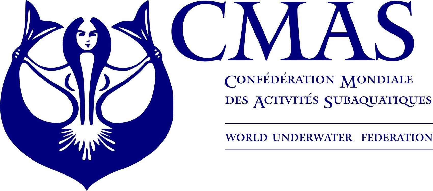Confédération Mondiale des Activités Subaquatiques (CMAS) Logo [EPS] png
