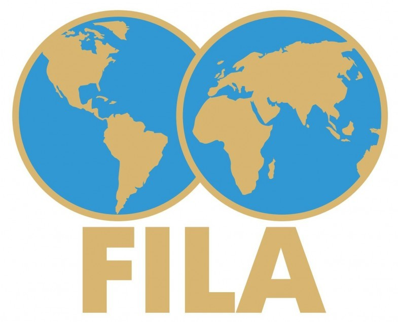FILA Logo   International Federation of Associated Wrestling Styles png