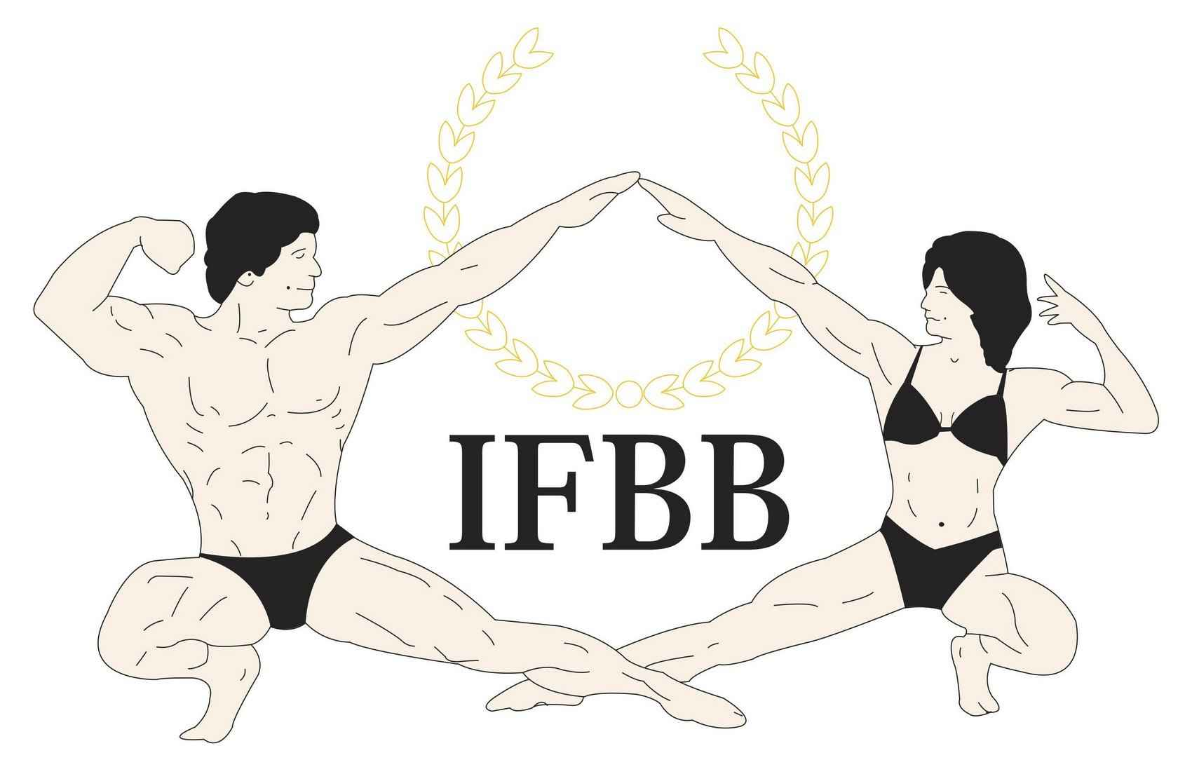 International Federation of BodyBuilders (IFBB) Logo [EPS File] png