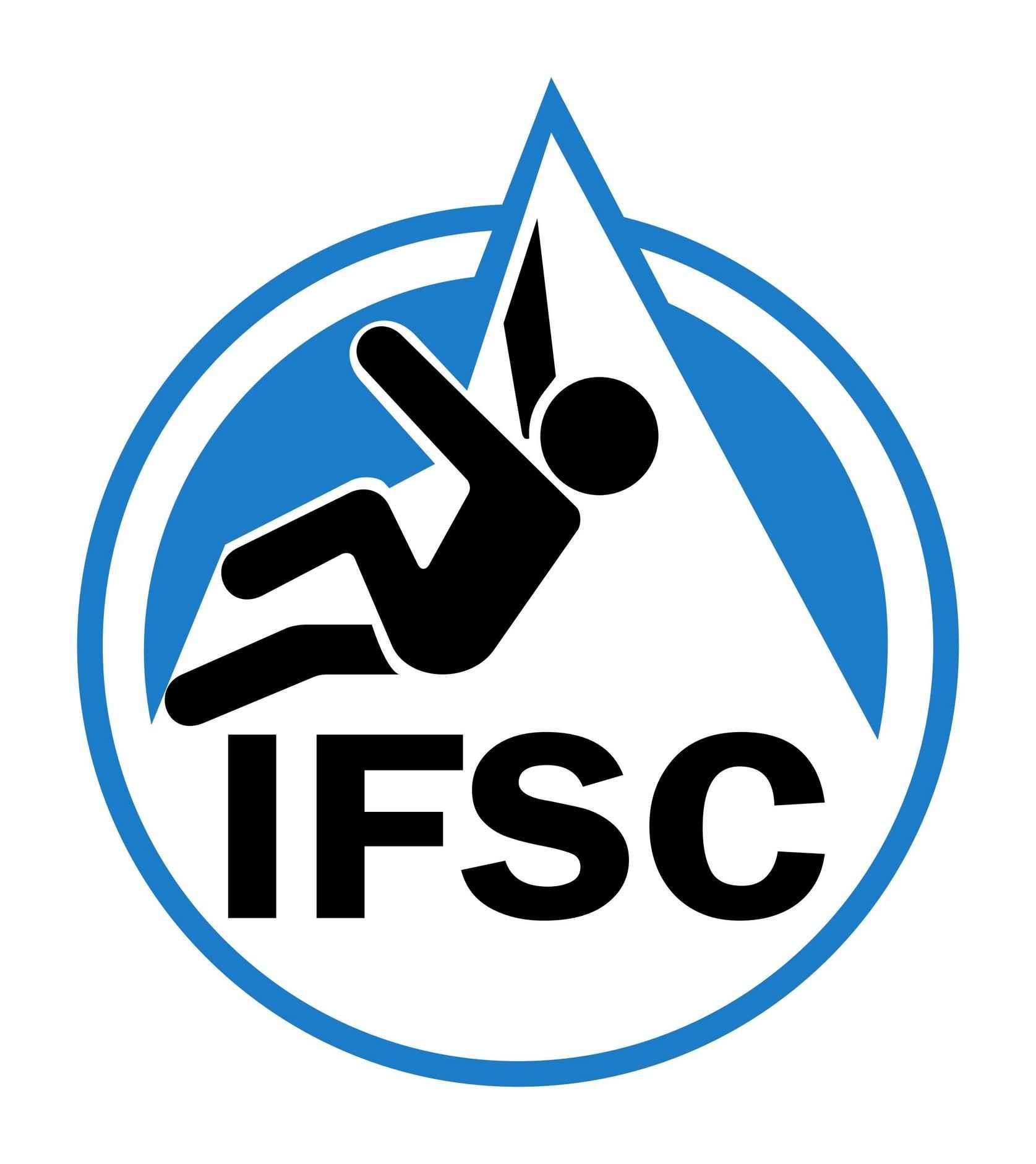 International Federation of Sport Climbing IFSC logo