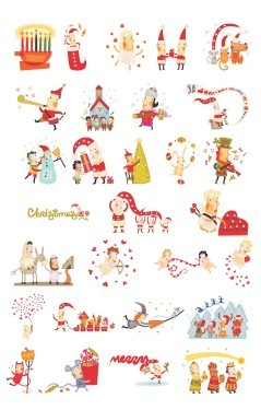 Cute-Christmas-characters-01
