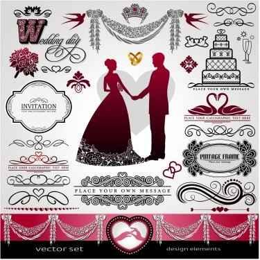 Wedding-Day-calligraphic-elements-001