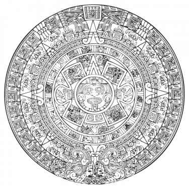 aztec-calendar-vector