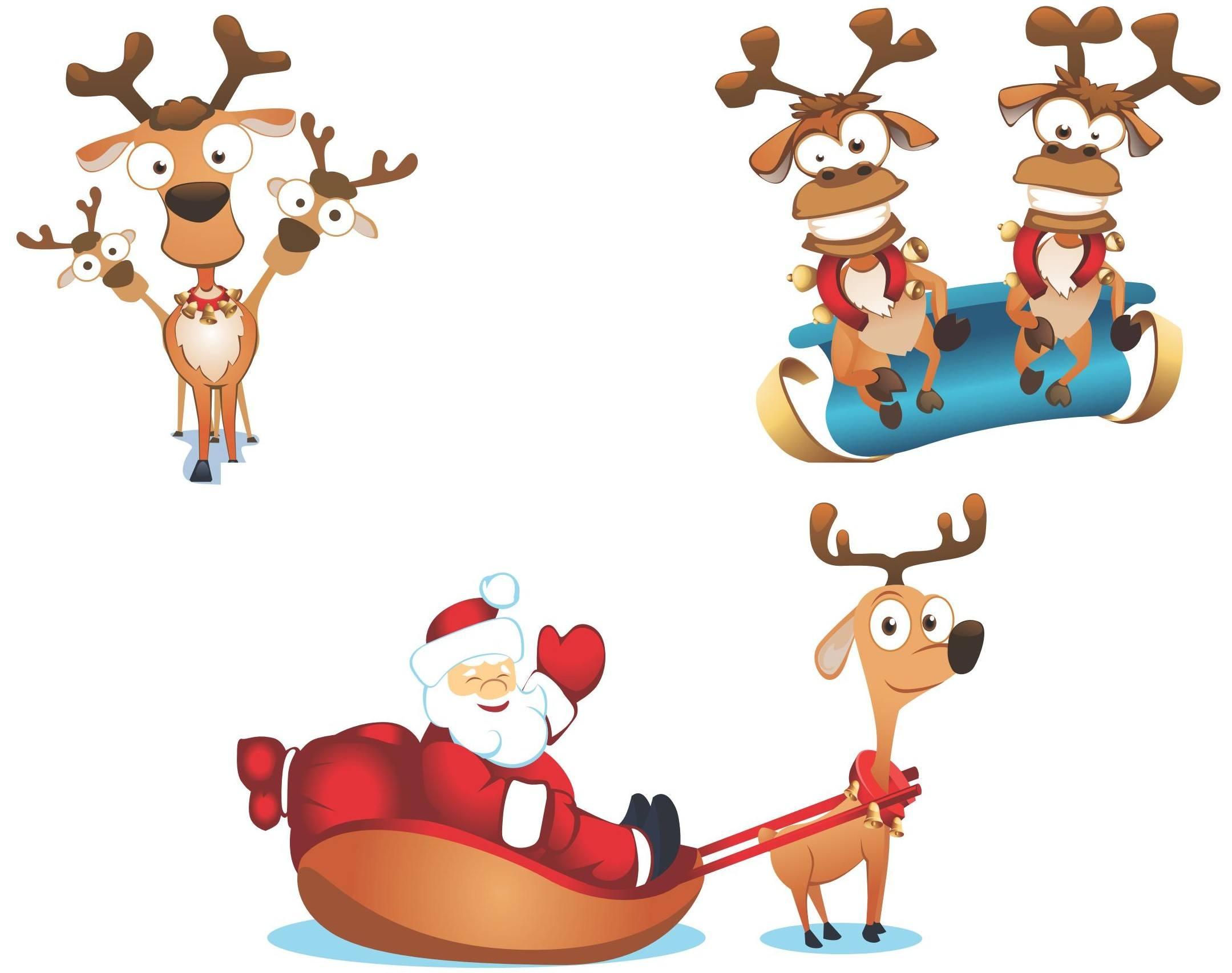 Cute Santa Vector 01 [EPS File] png
