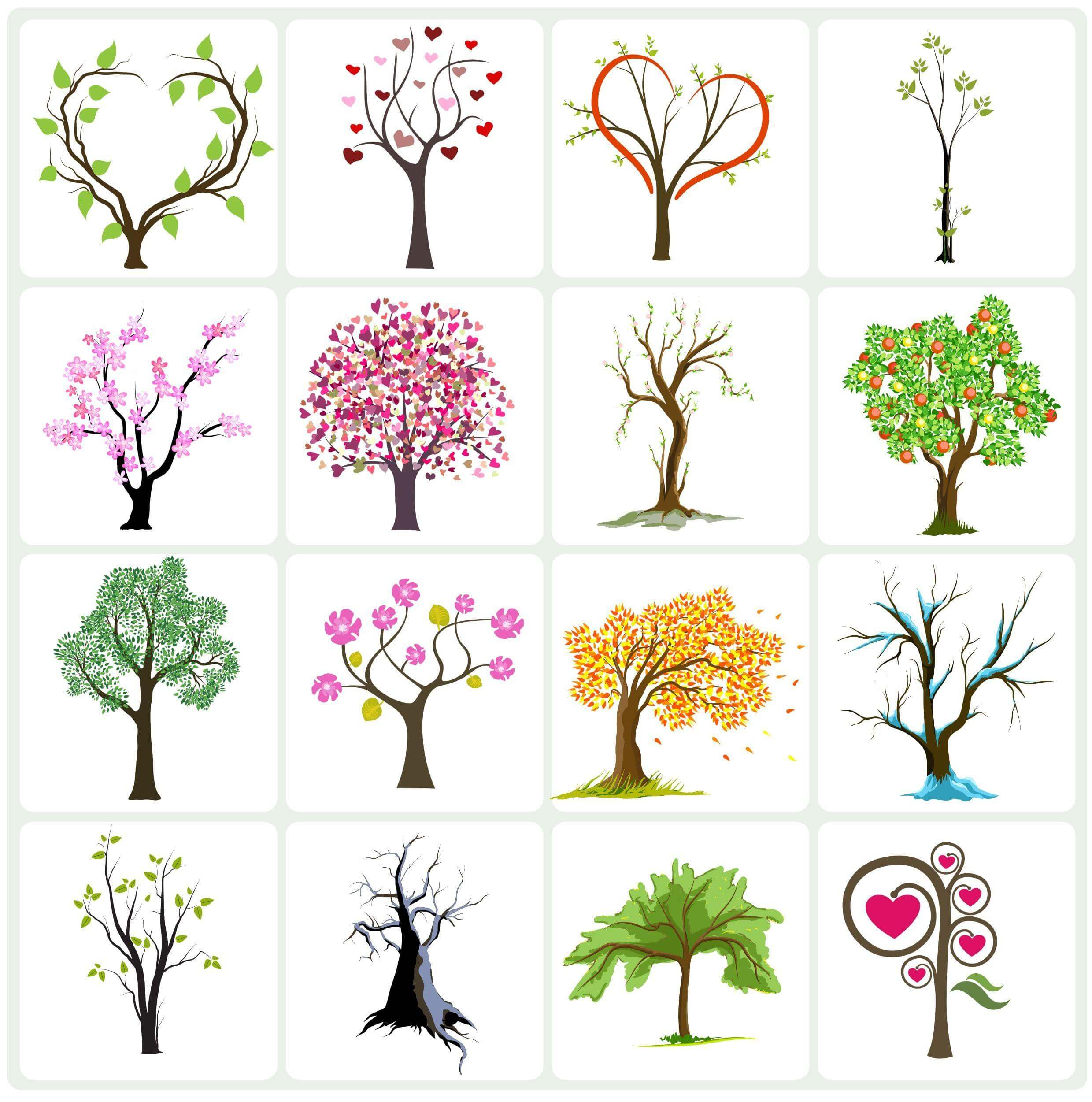 Vector Tree Collection png