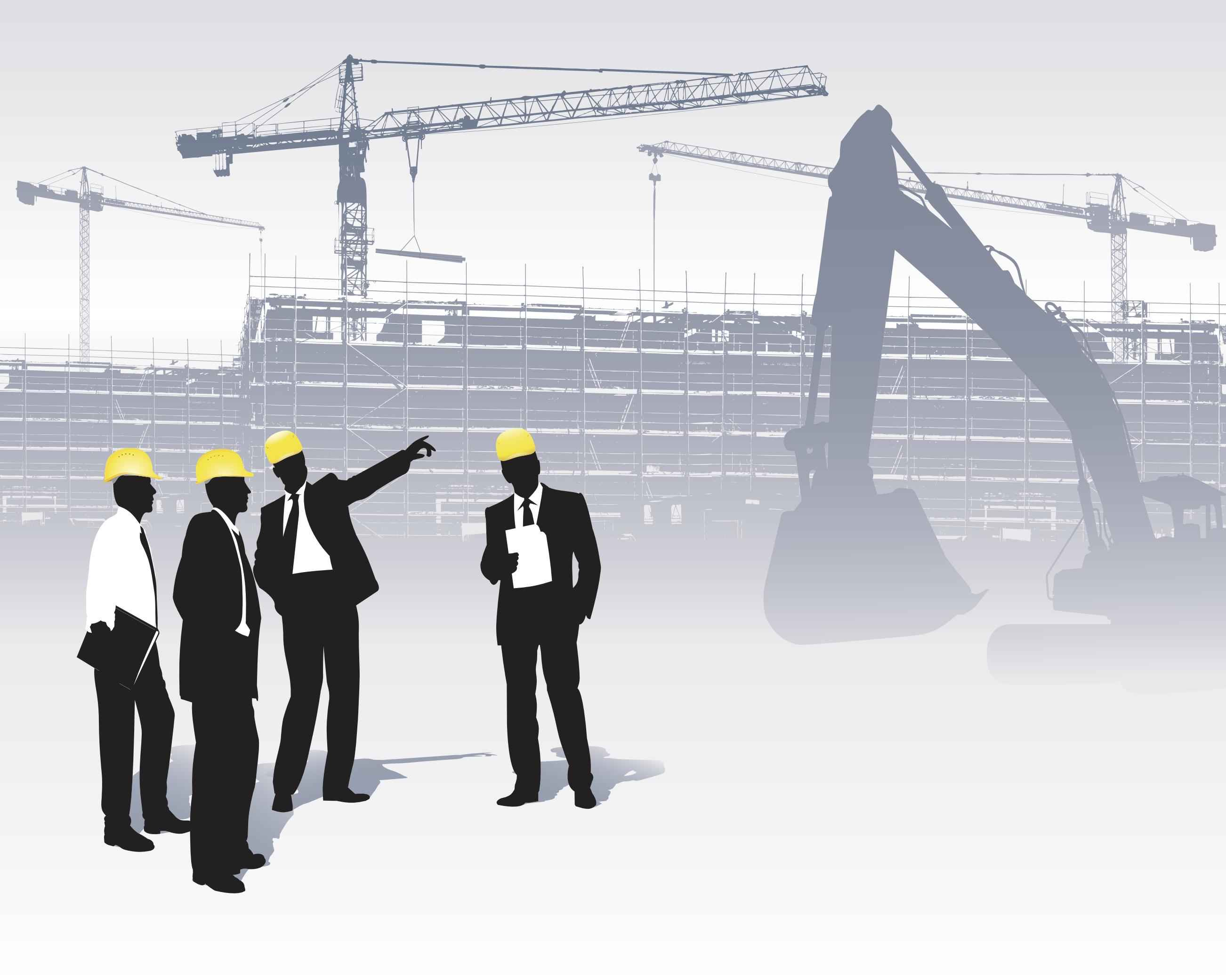 Business People Silhouette   Construction [EPS File] png