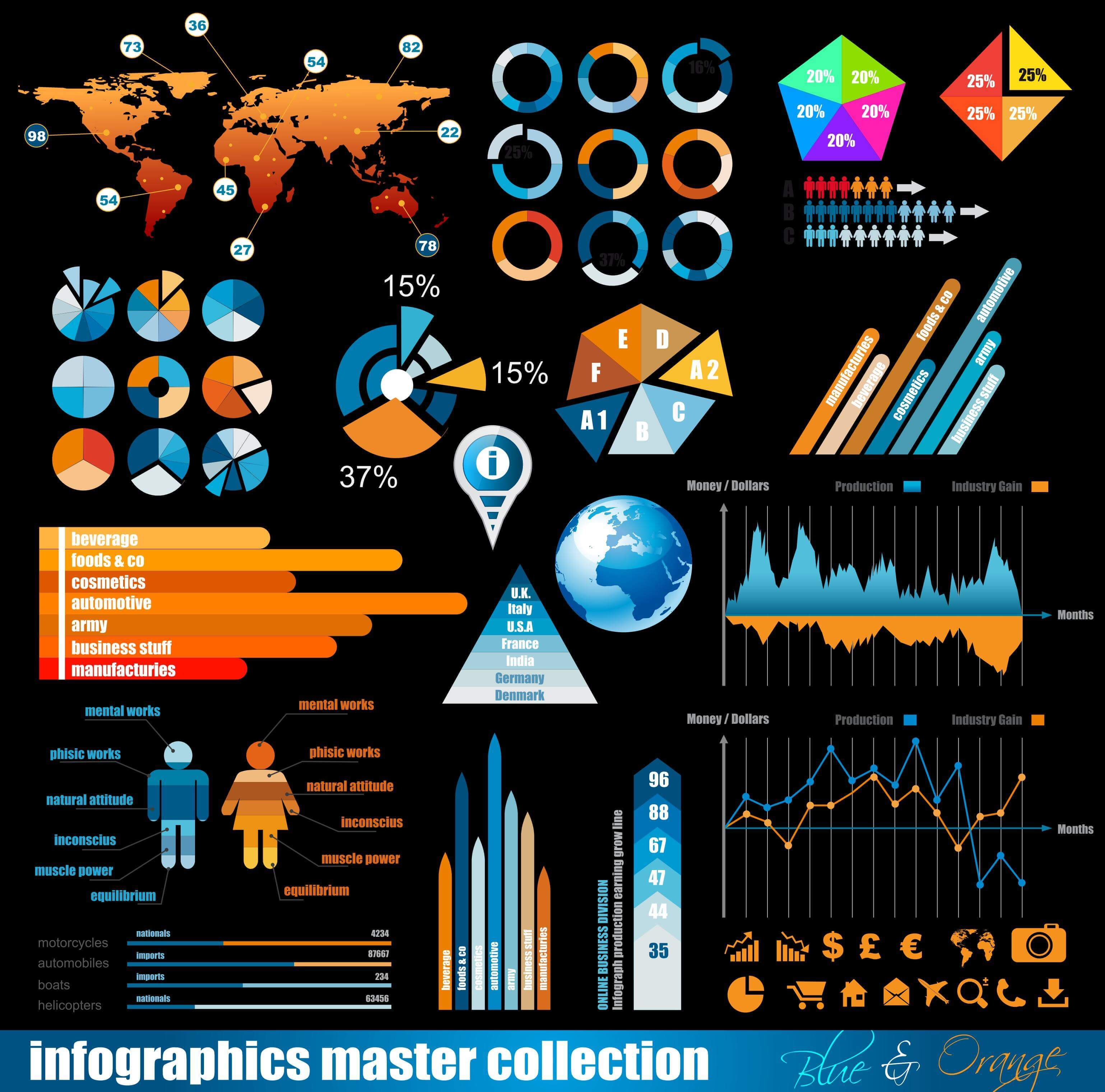 Business Data Elements   Infographic Materials 02 png