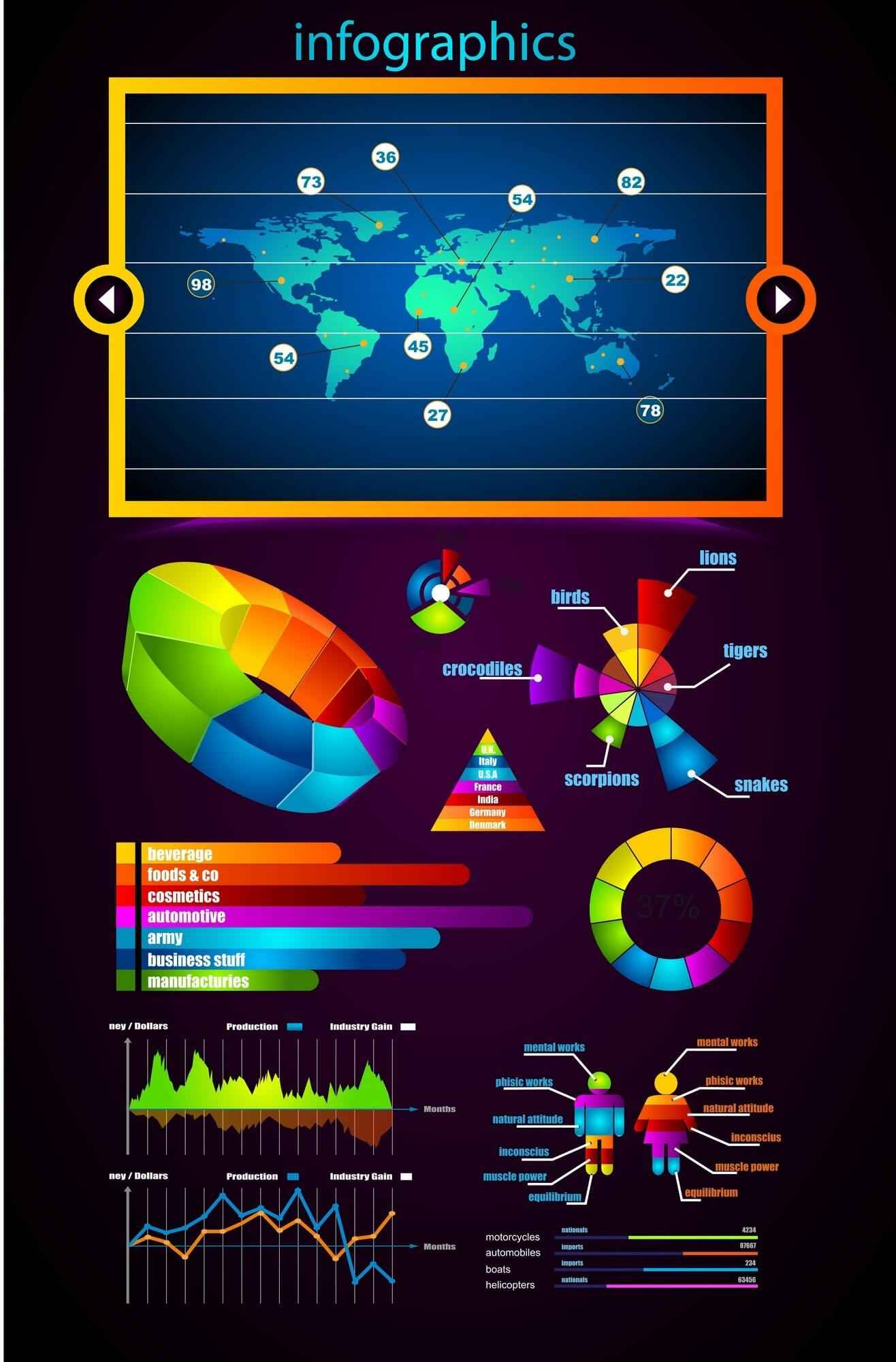 Business Data Elements   Infographic Materials 03 png