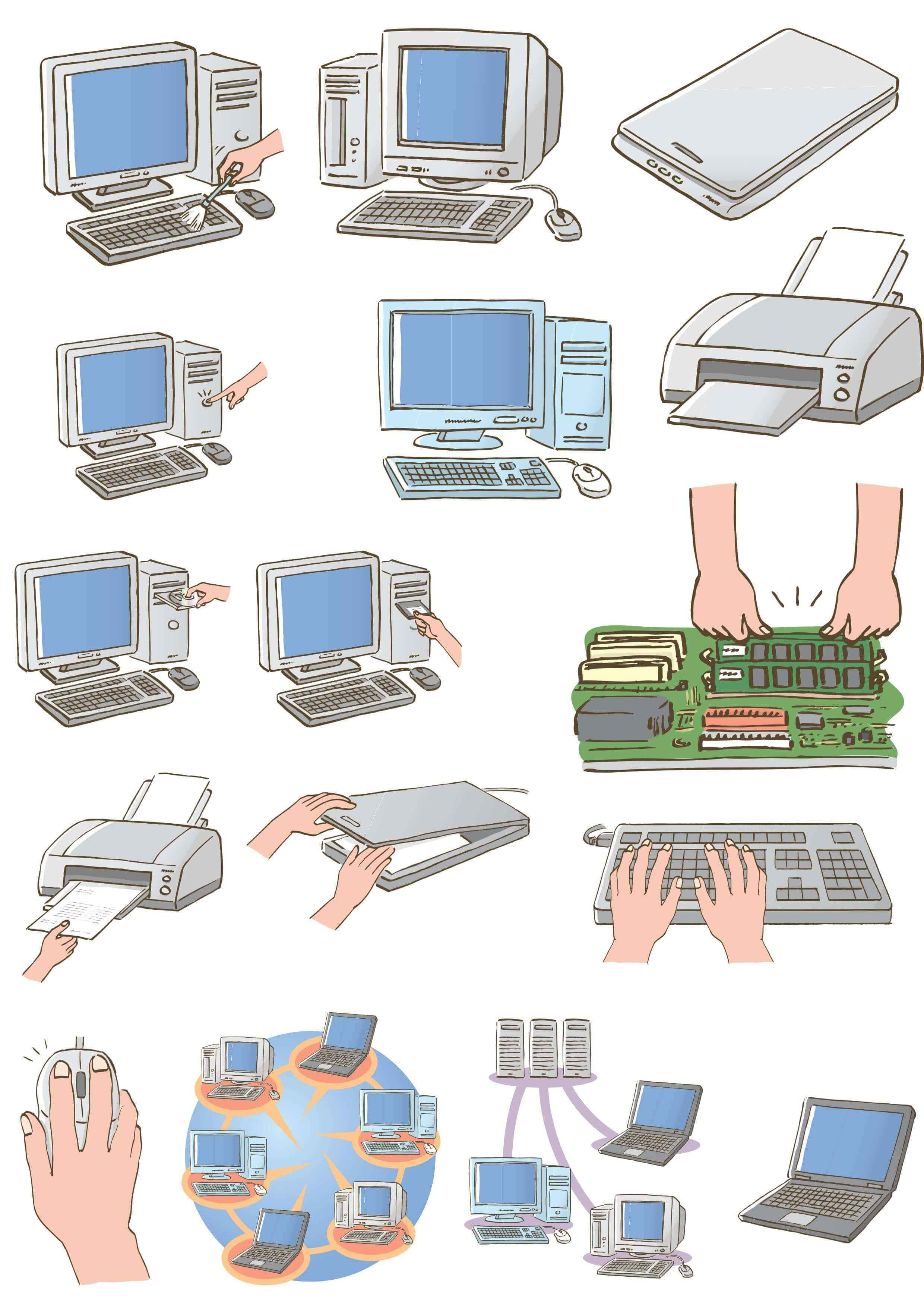 Computer Illustrations [PDF File] png