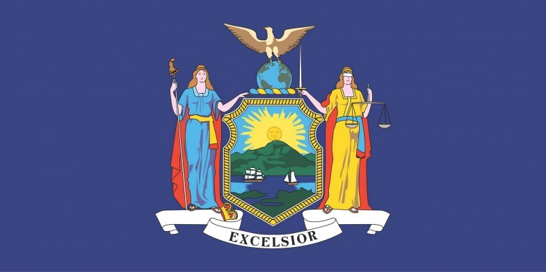 New York State Flag&Seal png