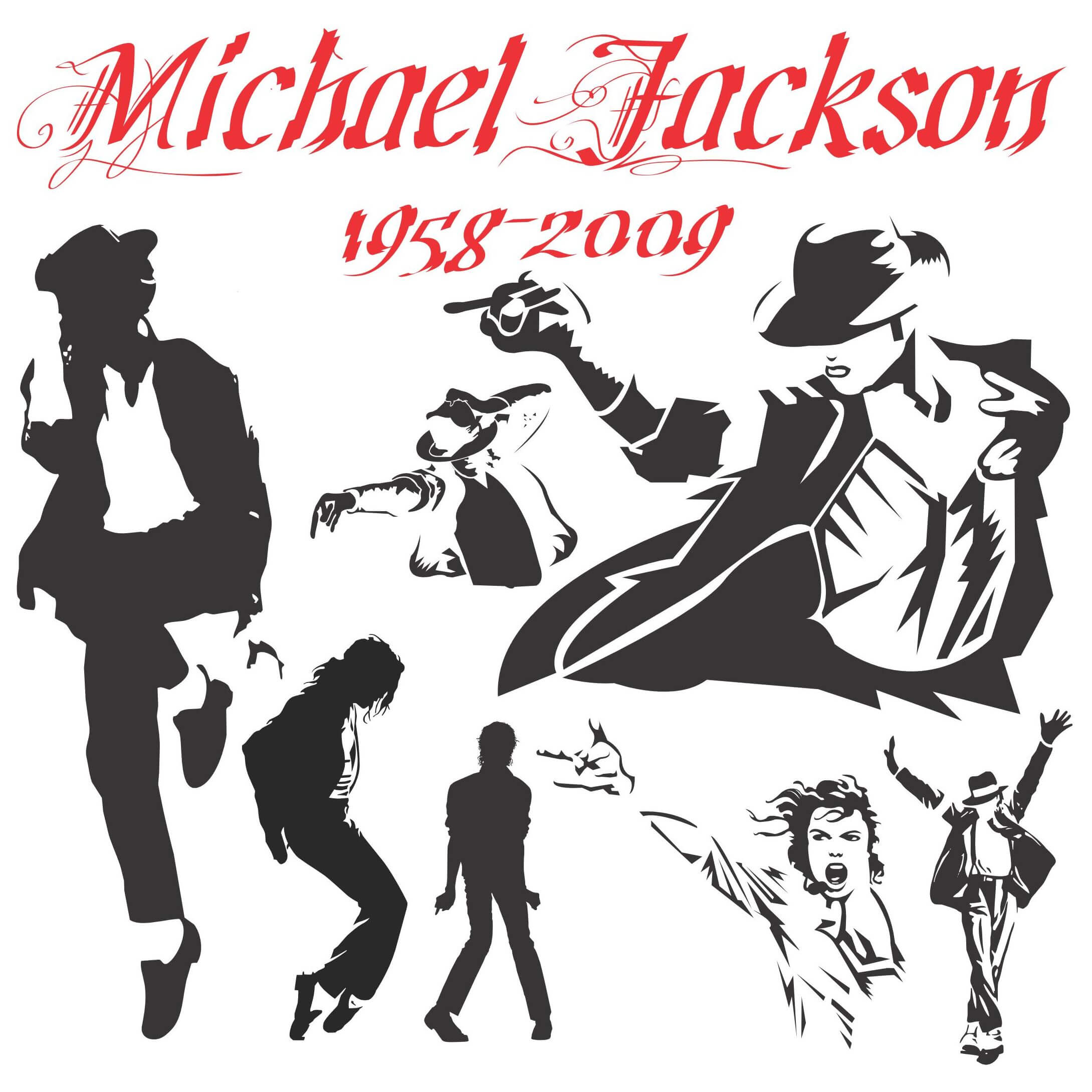 Michael Jackson Silhouettes png