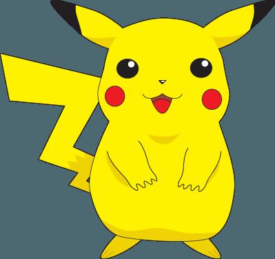 Pokemon characters 01 399x375 vector