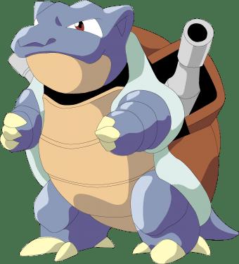 Pokemon characters 04 340x375 vector