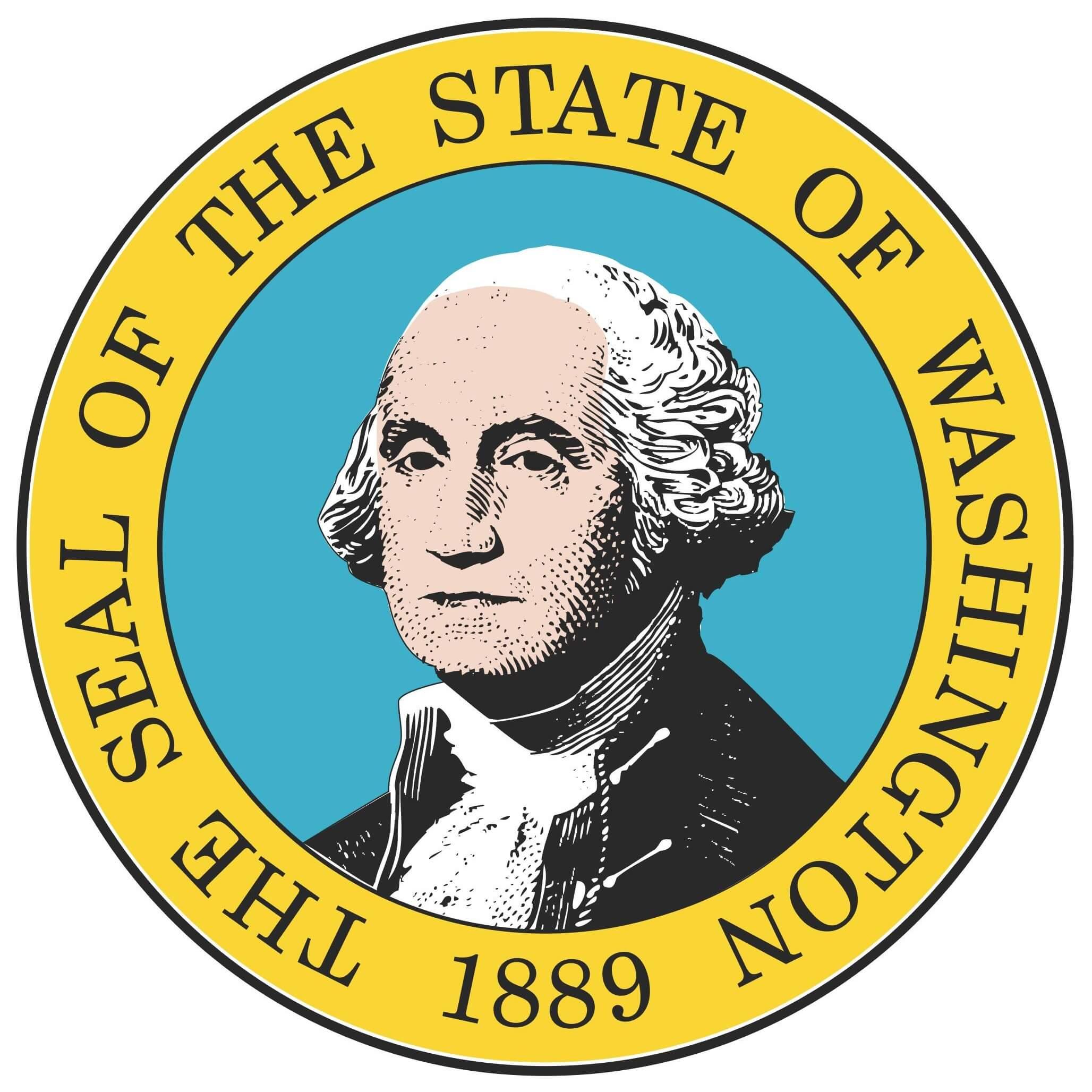 Washington State Flag&Seal png