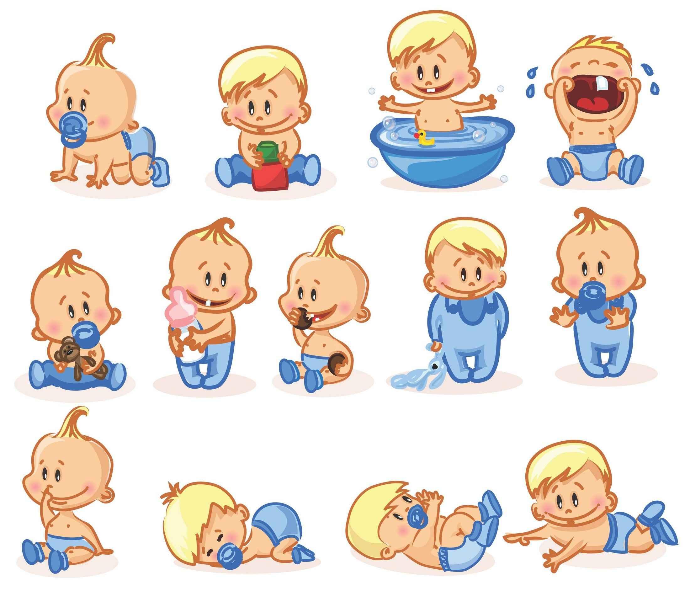 Cartoon Baby, Children, Kids, People png