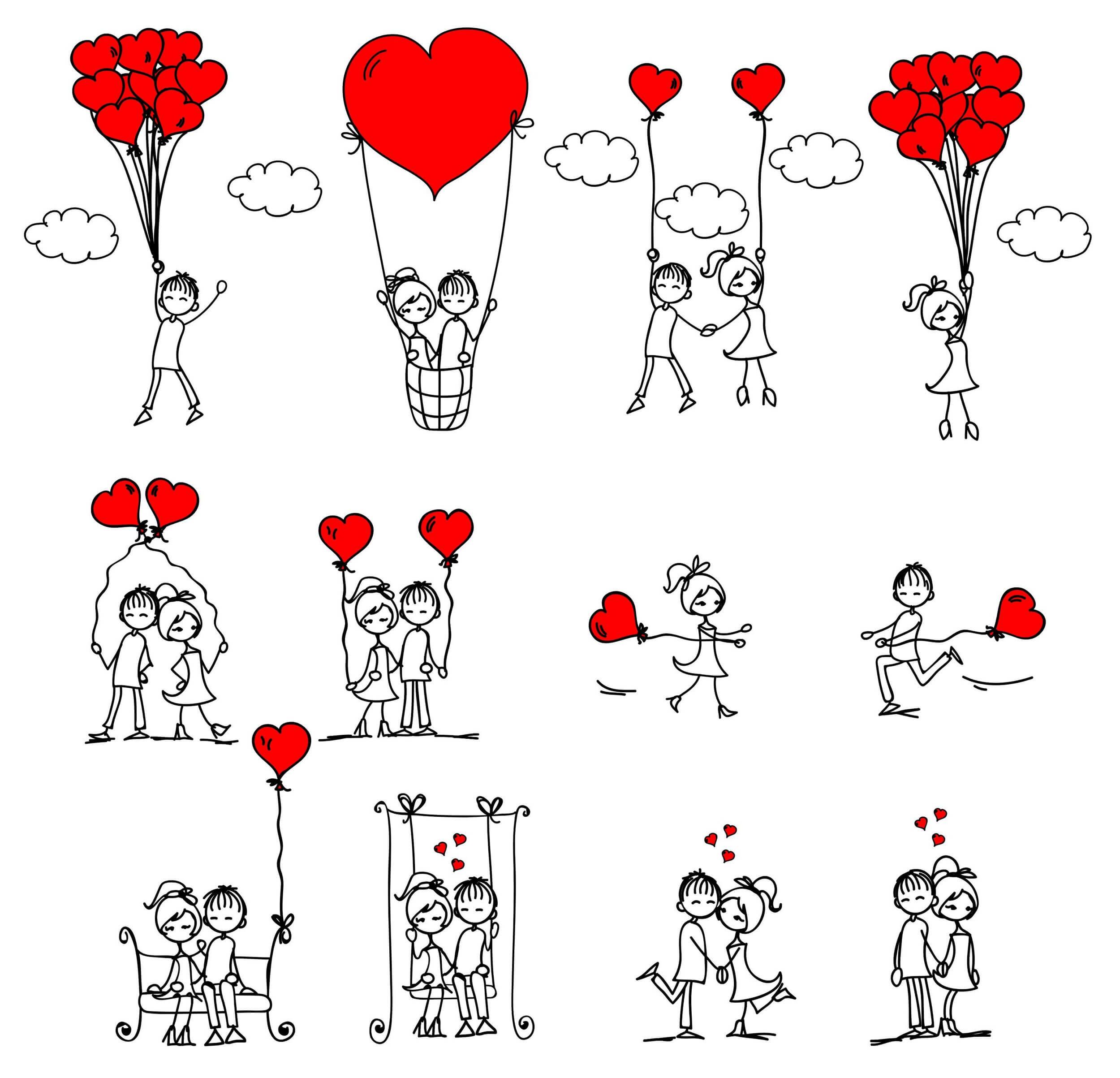 Love Illustration png