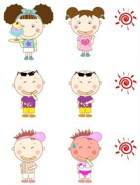 summer-cute-little-boy-and-girl