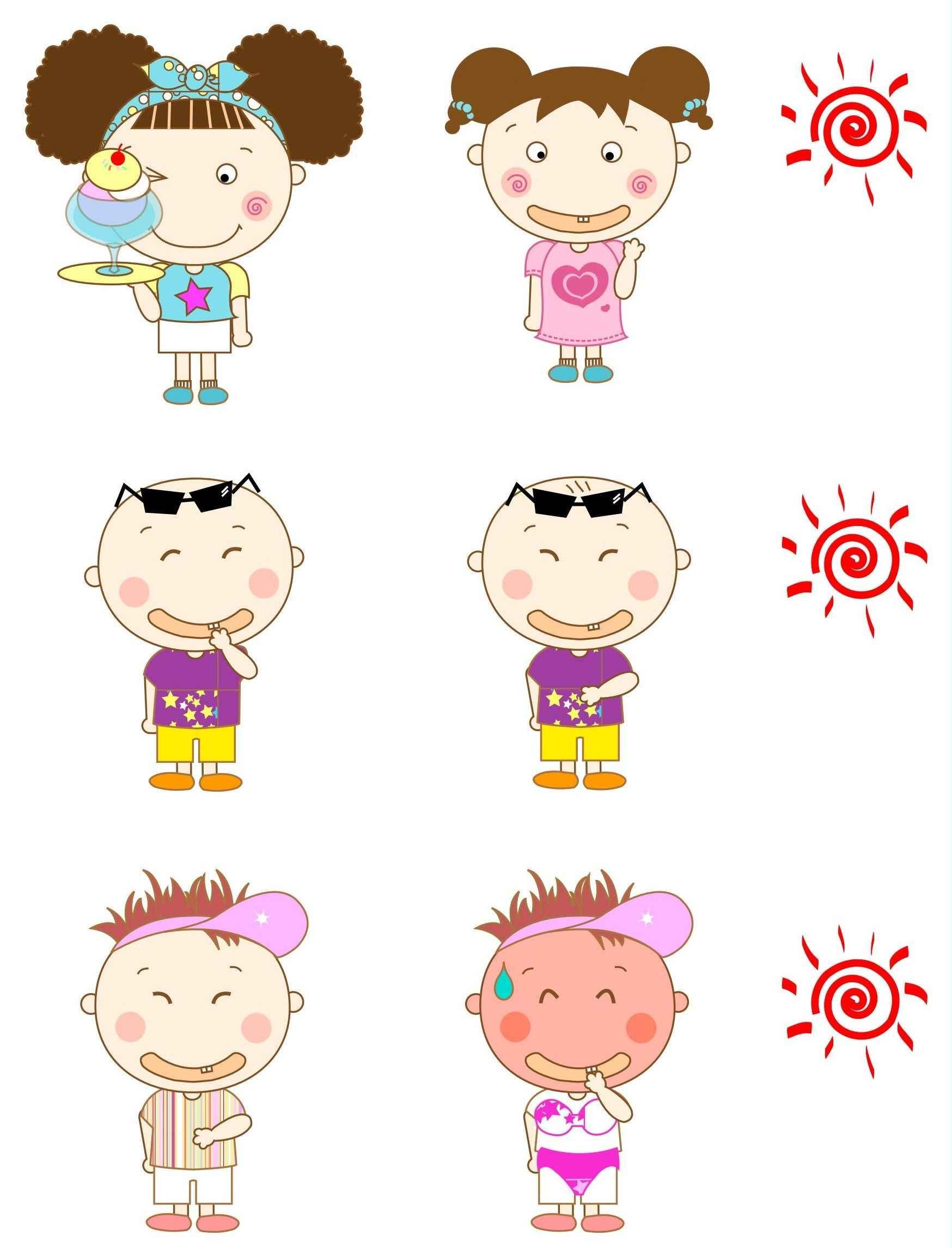 Cartoon Children, Kids, People 04 png