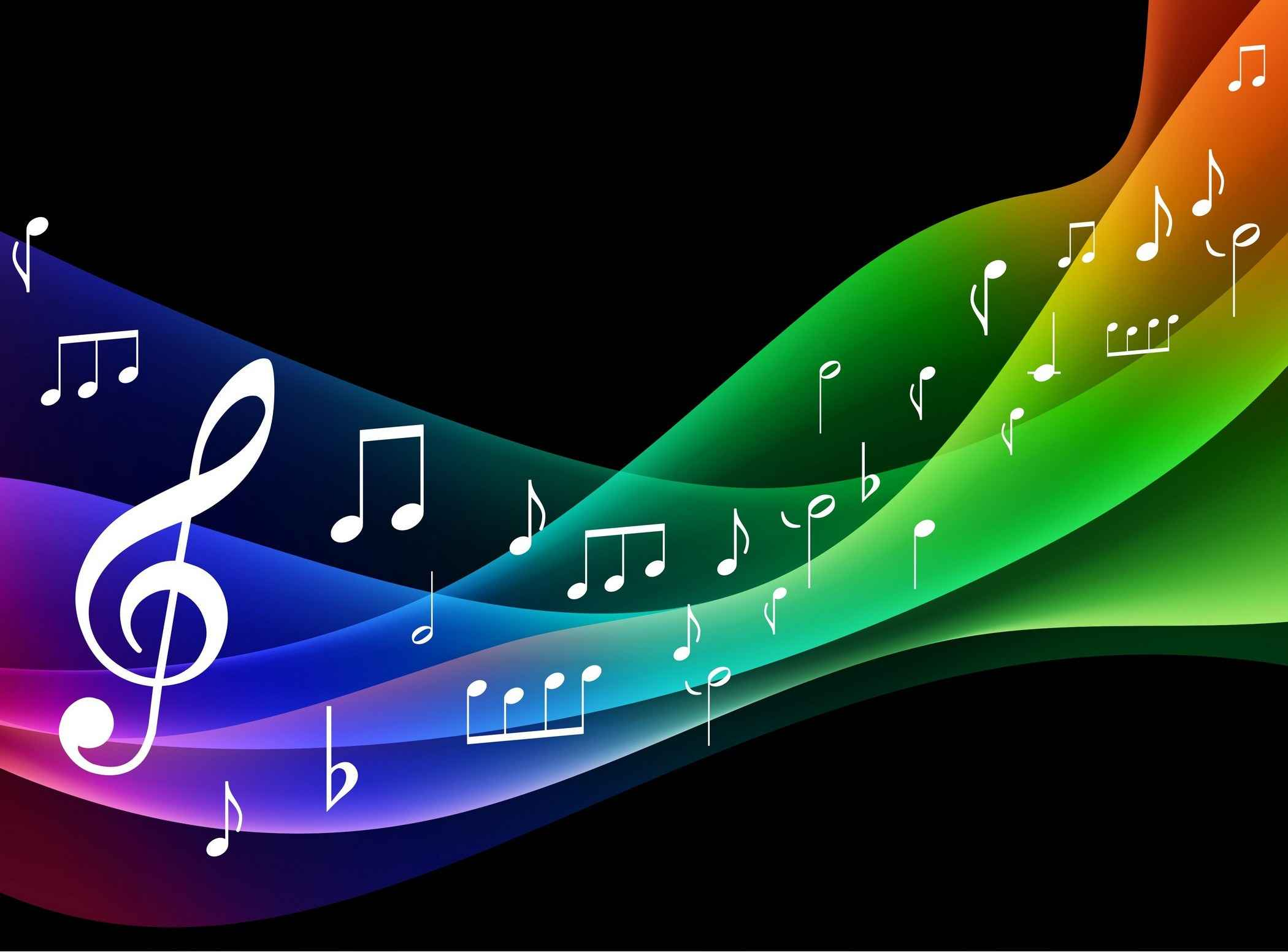 Symphony Music Background Vector [EPS File]