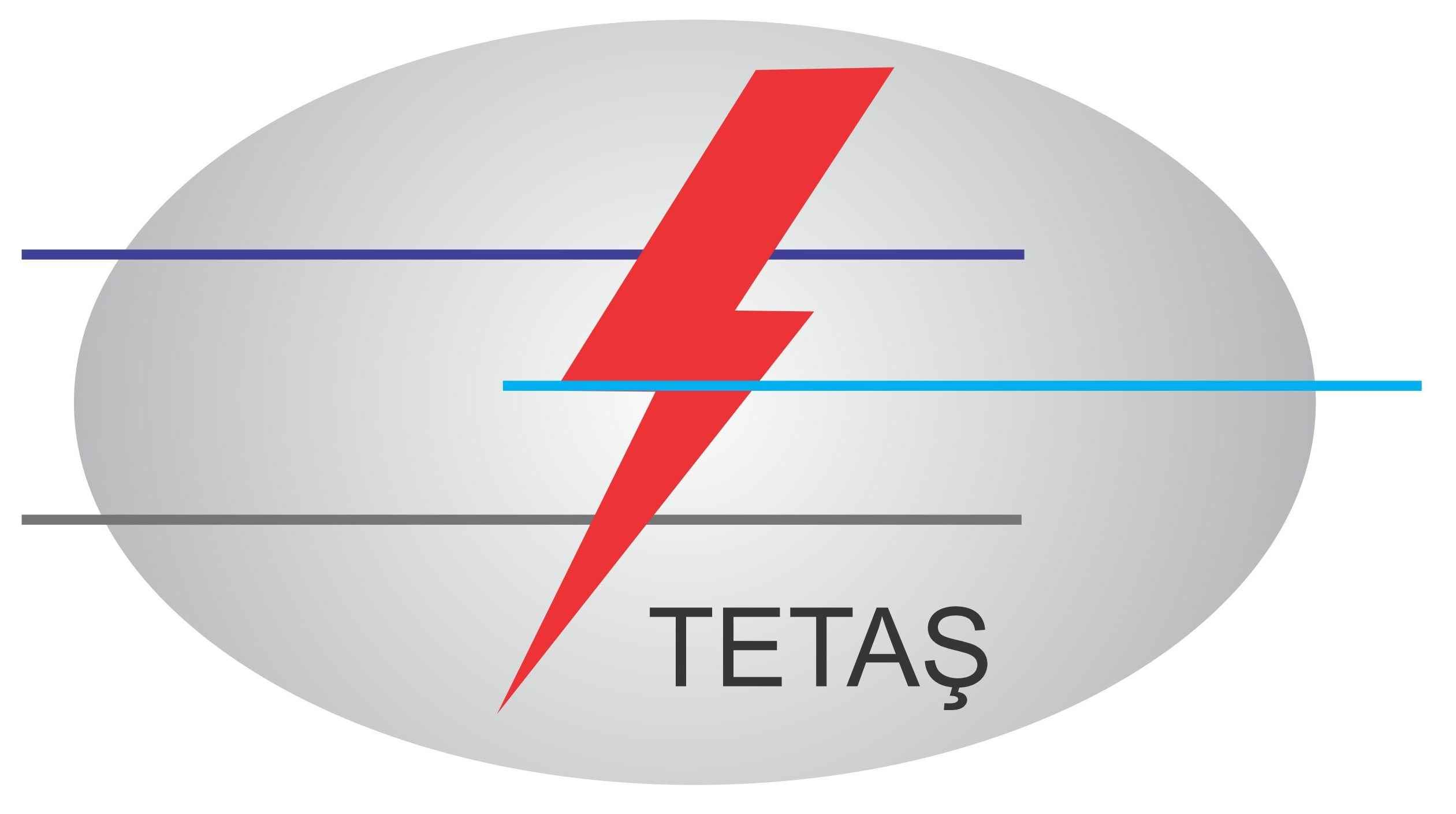 TETAŞ   Türkiye Elektrik Ticaret ve Taahhüt A.Ş. Genel Müdürlüğü Vektörel Logosu [EPS File] png