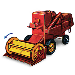 Combine Harvester with Movement_256x256-32