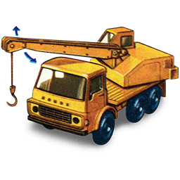 Dodge Crane Truck with movement_256x256-32