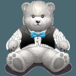 Gift_Light Grey bear