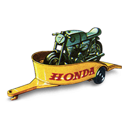 Honda Motorcycle with Trailer_256x256-32