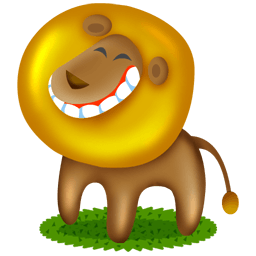 Cute cartoon animals 01 png