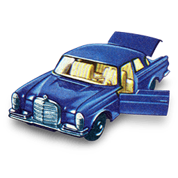 Mercedes 300 SE with Open Boot_256x256-32