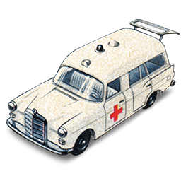 Mercedes Benz Ambulance with Open Boot_256x256-32