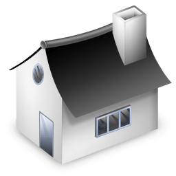 Monopoly house vector