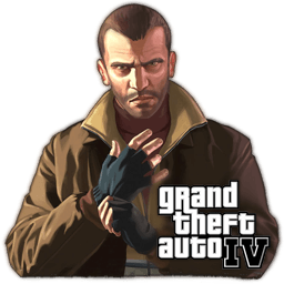 GTA IV – Grand Theft Auto IV Icons 256×256 [PNG Files]