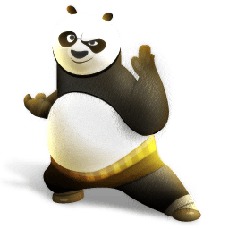 Kung Fu Panda Icons 256x256 [PNG Files] png