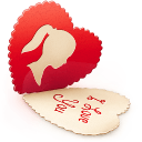 Valentine's Day Icon Set 128x128 [PNG Files] png
