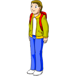 Cartoon Children, Kids, People 02 png