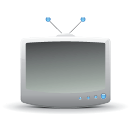 Television Icons 256x256 [PNG Files]