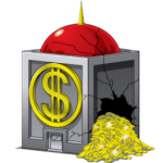 V icons - Buildings - Money Bin (Trash Bin full)_256x256-32